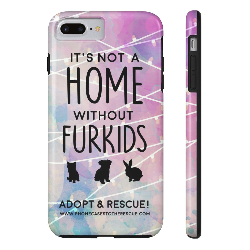 iPhone 7 Plus For the Love of Fur Babies Phone Case with Tough Rugged Protection
