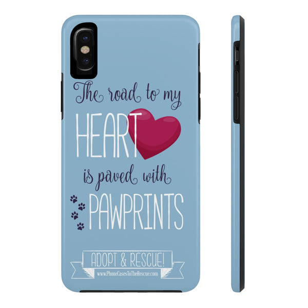 iPhone X Road To My Heart Phone Case with Tough Rugged Protection
