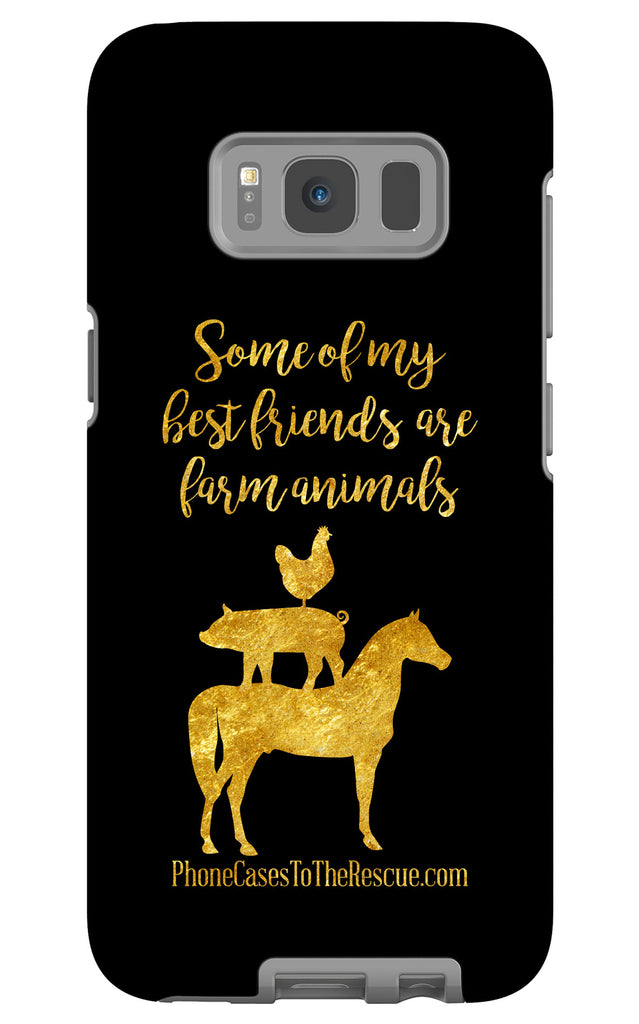 Samsung Galaxy S8 Best Friends Phone Case with Tough Rugged Protection