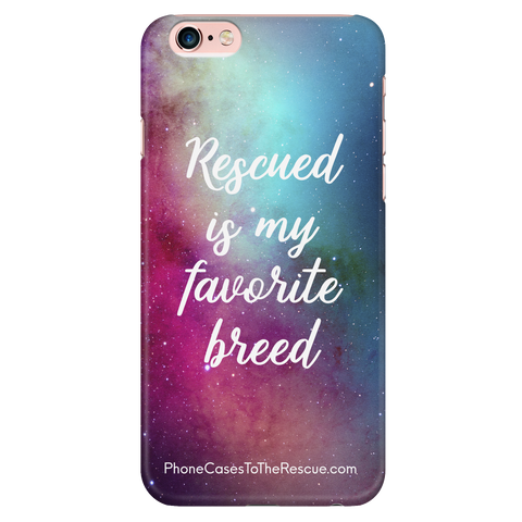 iPhone 6 Plus/6s Plus Rescued Is My Favorite Phone Case with Ultra Slim Profile
