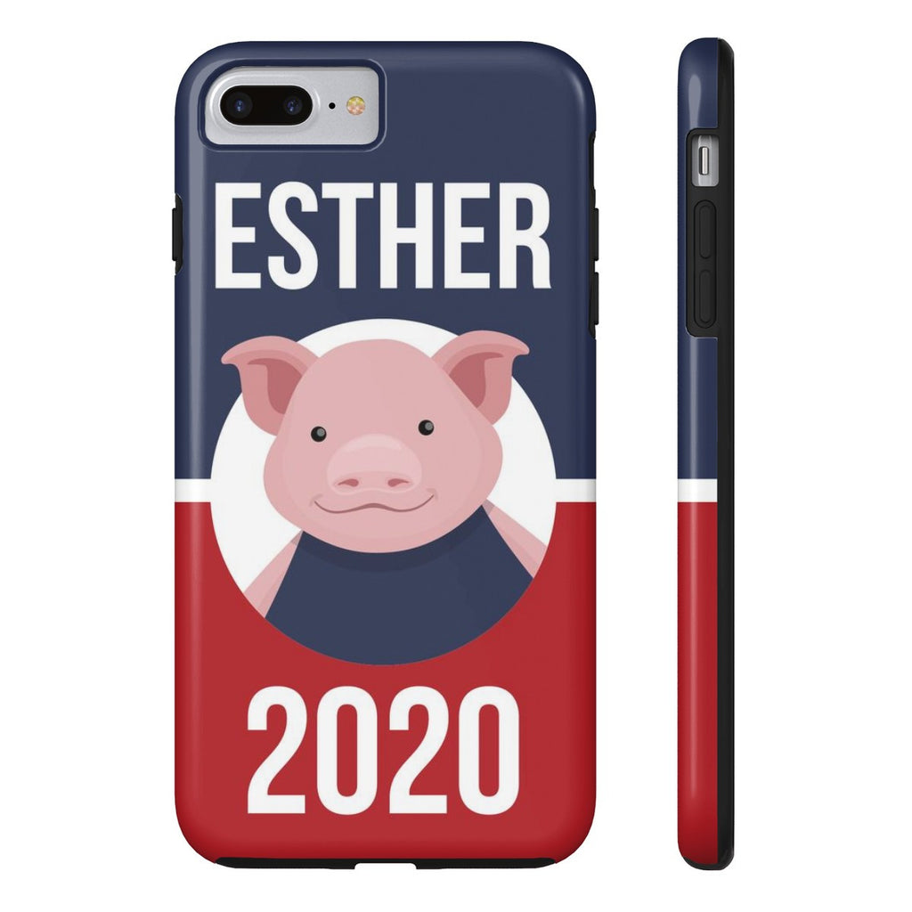 iPhone 7 Plus Esther 2020 Patriotic Phone Case with Tough Rugged Protection