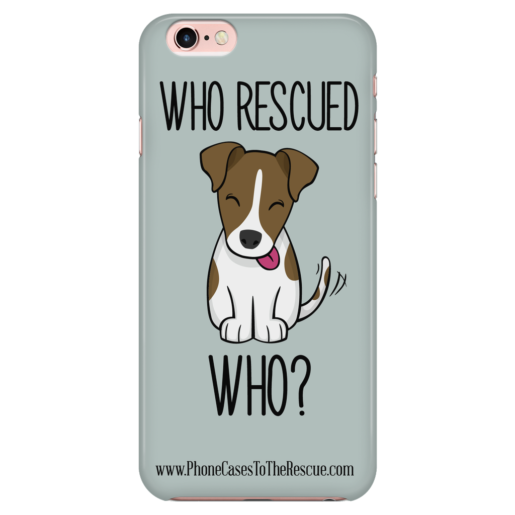 iPhone 7/7s Who Rescued Who Phone Case with Ultra Slim Durable Profile