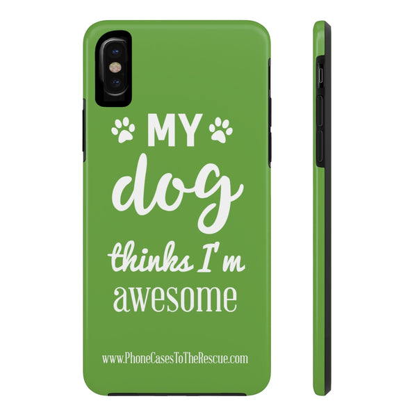iPhone X My Dog Phone Case with Tough Rugged Protection