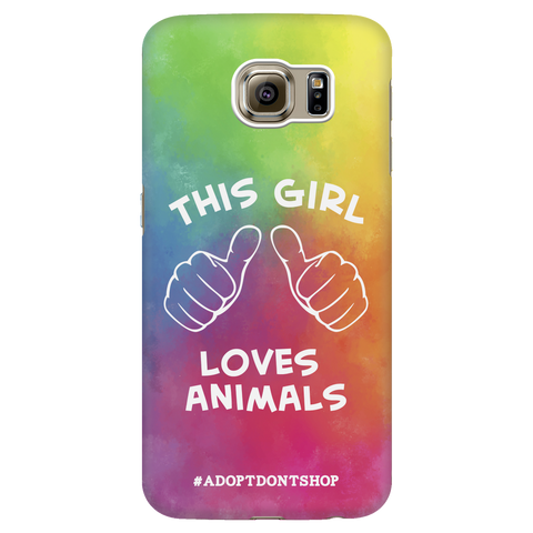 Samsung Galaxy S6 For the Love of Animals Phone Case with Ultra Slim Durable Profile
