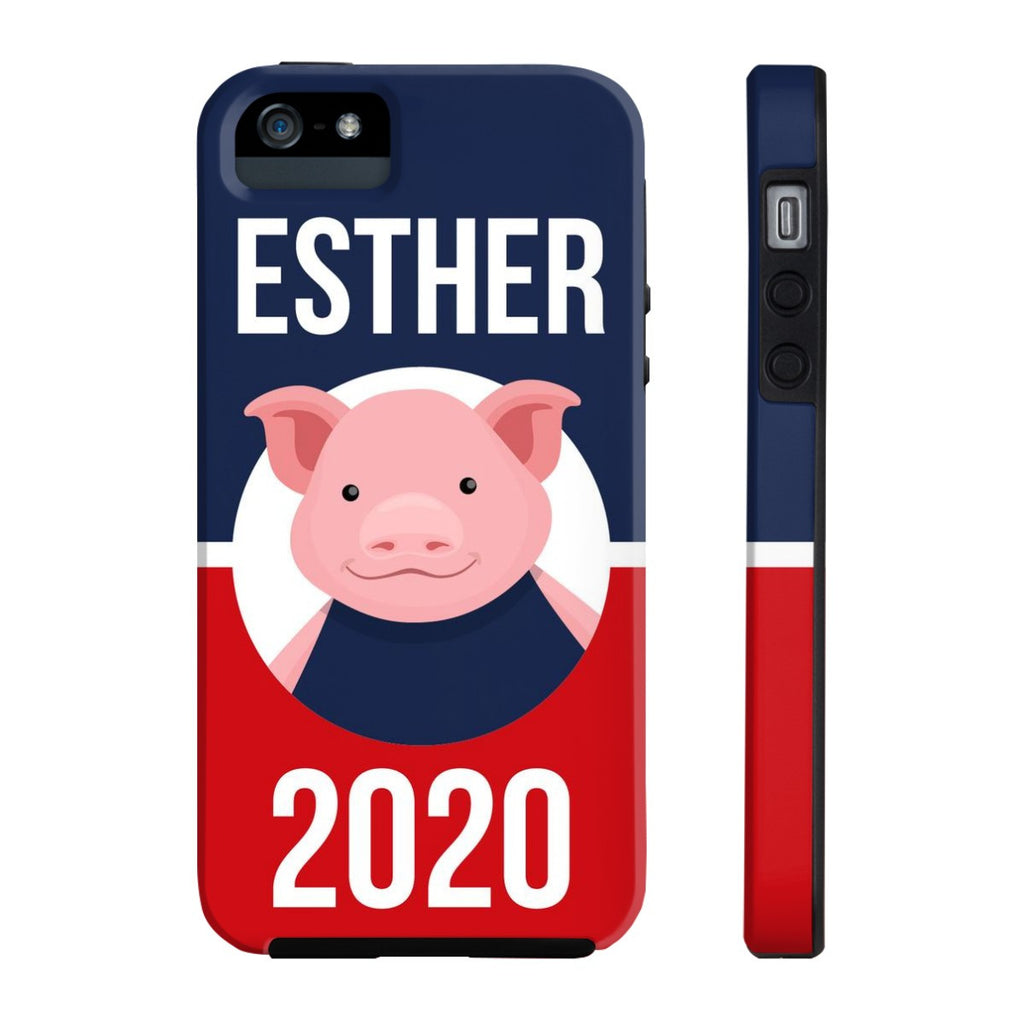 iPhone 5/5s/5se Esther 2020 Patriotic Phone Case with Tough Rugged Protection