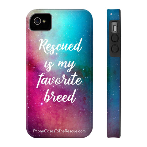 iPhone 4/4s Rescued Is My Favorite Phone Case with Tough Rugged Protection