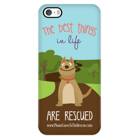 iPhone 5/5s The Best Things in Life Phone Case with Ultra Slim Durable Profile