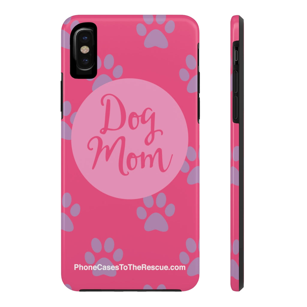 iPhone X Dog Mom Phone Case with Tough Rugged Protection