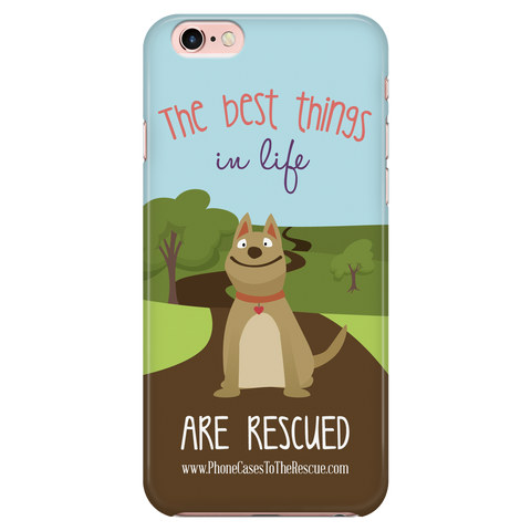 iPhone 7/7s The Best Things in Life Phone Case with Ultra Slim Durable Profile