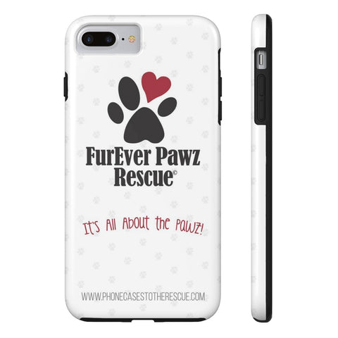 iPhone 7 Plus FurEver Pawz Rescue Collaboration Case with Tough Rugged Protection