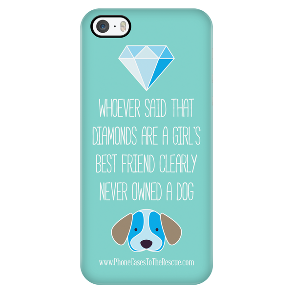 Diamond/Puppy - Blue - Available for Androids & iPhones