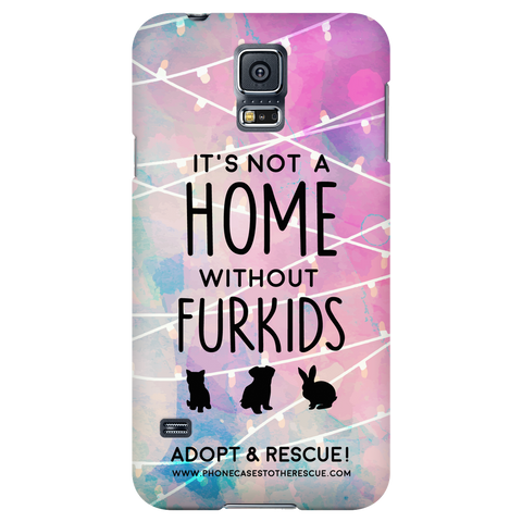 Samsung Galaxy S5 For the Love of Fur Babies Phone Case with Ultra Slim Profile