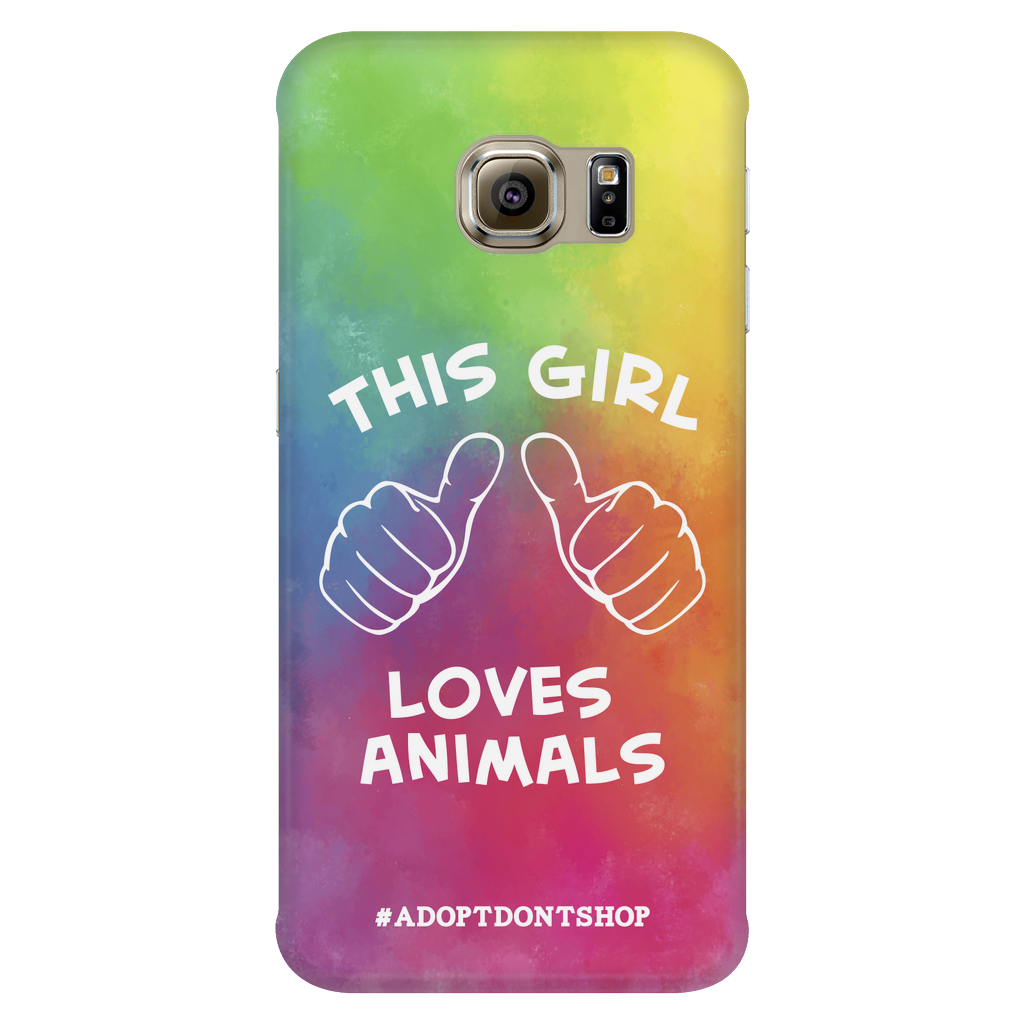 Samsung Galaxy S6 Edge For the Love of Animals Phone Case with Ultra Slim Durable Profile