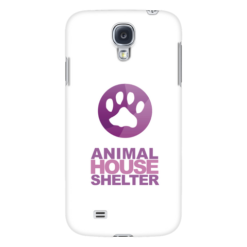 Samsung Galaxy S4 Animal House Shelter Collaboration Phone Case with Ultra Slim Profile