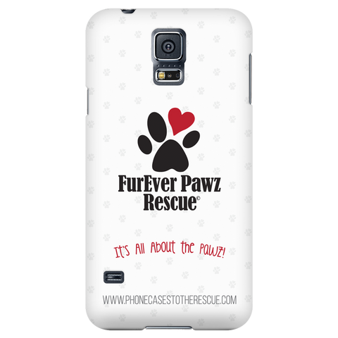 Samsung Galaxy S5 FurEver Pawz Rescue Collaboration Phone Case with Ultra Slim Profile