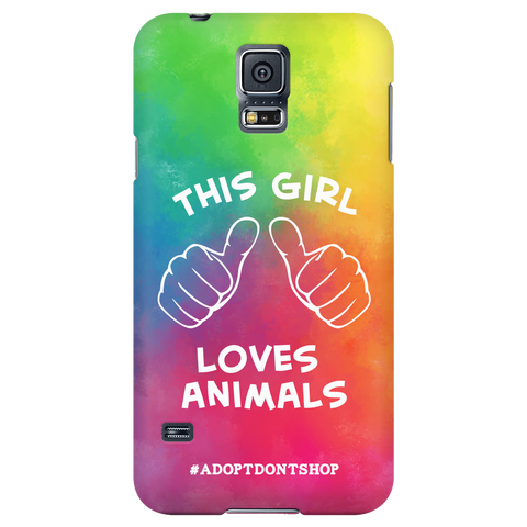 Samsung Galaxy S5 For the Love of Animals Phone Case with Ultra Slim Profile