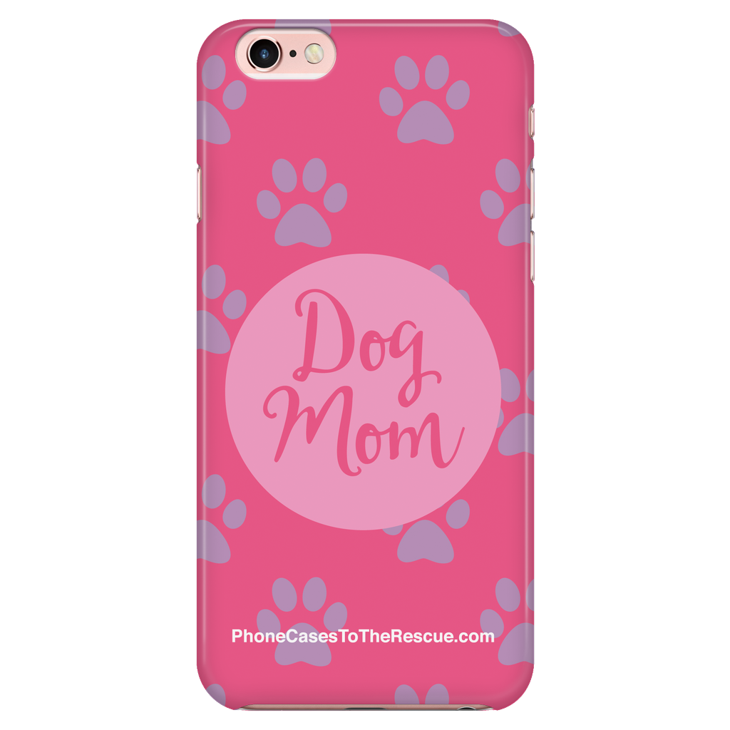 iPhone 7/7s/8 Dog Mom Phone Case with Ultra Slim Durable Profile