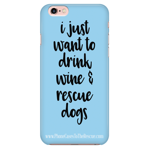 iPhone 7/7s Rescue Dogs Phone Case with Ultra Slim Durable Profile
