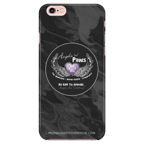 iPhone 7/7s Angels n Paws Collaboration Phone Case with Ultra Slim Durable Profile