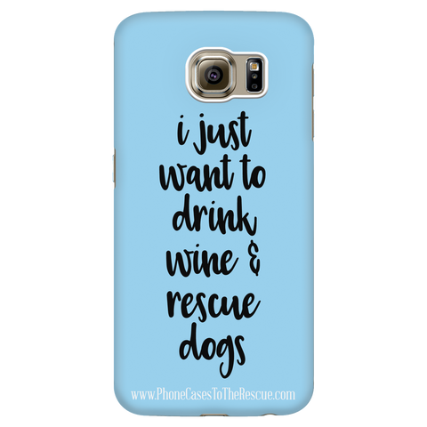 Samsung Galaxy S6 Rescue Dogs Phone Case with Ultra Slim Durable Profile