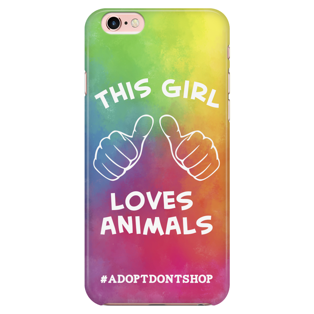 iPhone 6/6s For the Love of Animals Phone Case with Ultra Slim Durable Profile