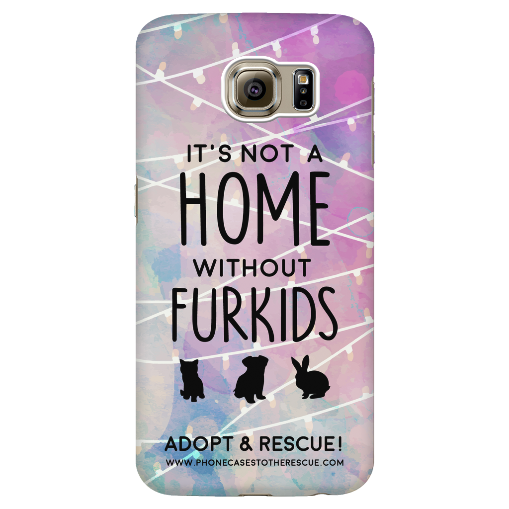 Samsung Galaxy S6 For the Love of Fur Babies Phone Case with Ultra Slim Durable Profile