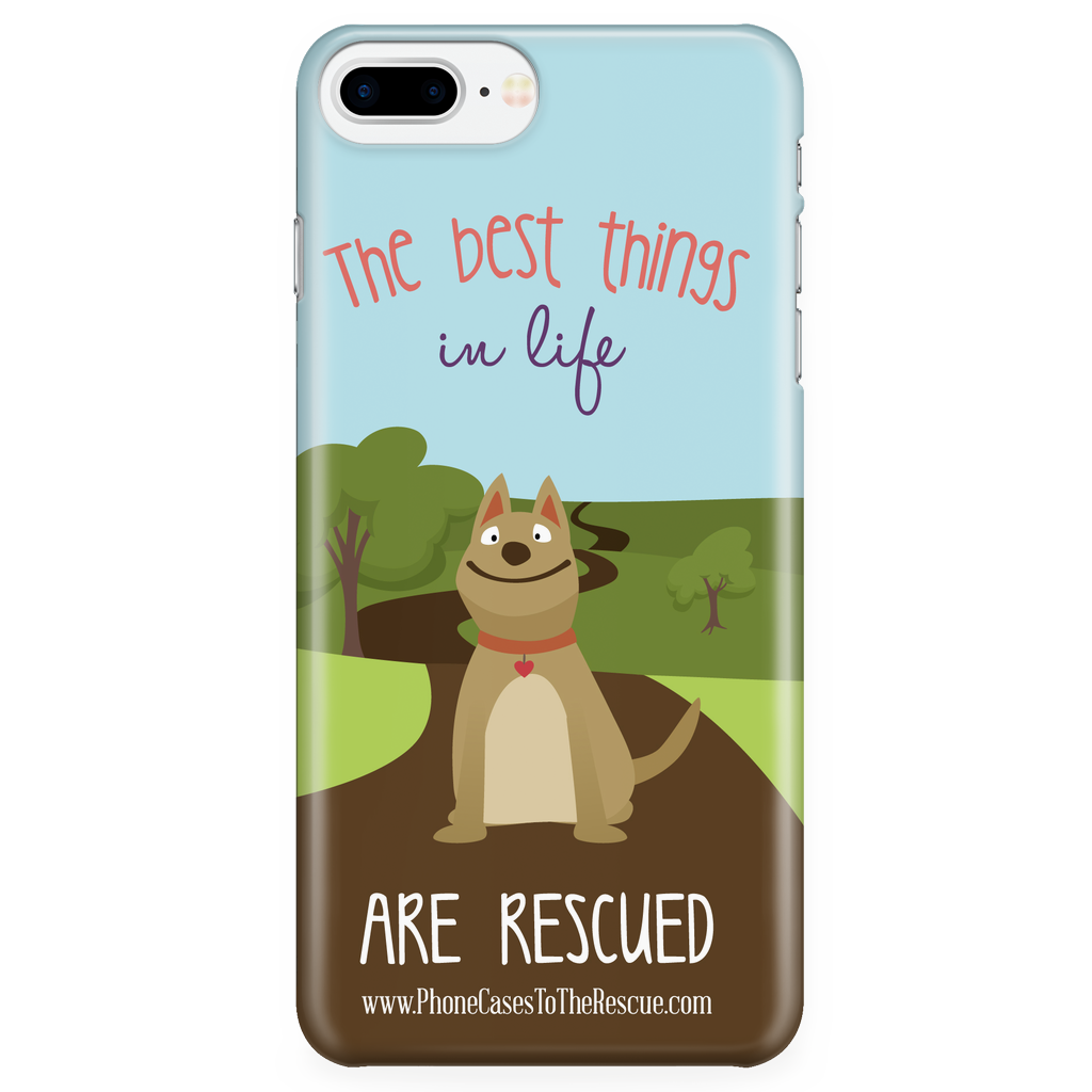 iPhone 7/7s Plus The Best Things in Life Phone Case with Ultra Slim Durable Profile