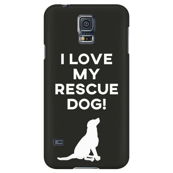 I Love My Rescue Dog - Available for Androids & iPhones