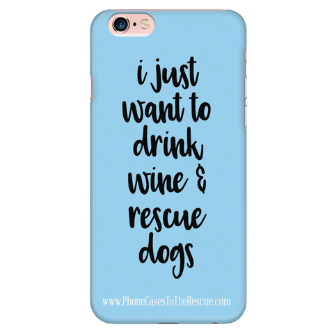 iPhone 6/6s Rescue Dogs Phone Case with Ultra Slim Durable Profile