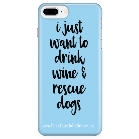 iPhone 7/7s Plus Rescue Dogs Phone Case with Ultra Slim Durable Profile