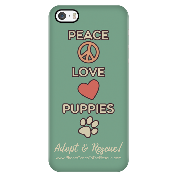 Peace Love Puppies - Available for Androids & iPhones