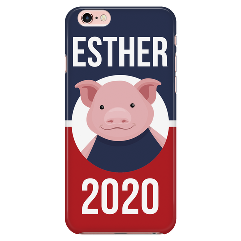 iPhone 7/7s Esther 2020 Patriotic Phone Case with Ultra Slim Durable Profile