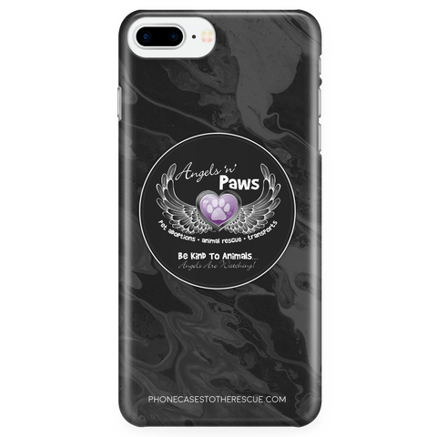 iPhone 7/7s Plus Angels n Paws Collaboration Phone Case with Ultra Slim Durable Profile
