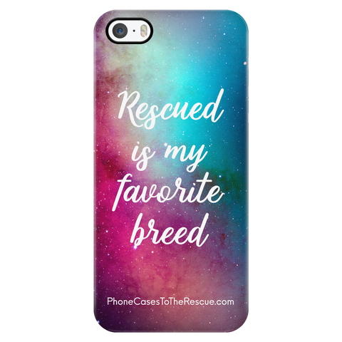 iPhone 5/5s Rescued Is My Favorite Phone Case with Ultra Slim Profile