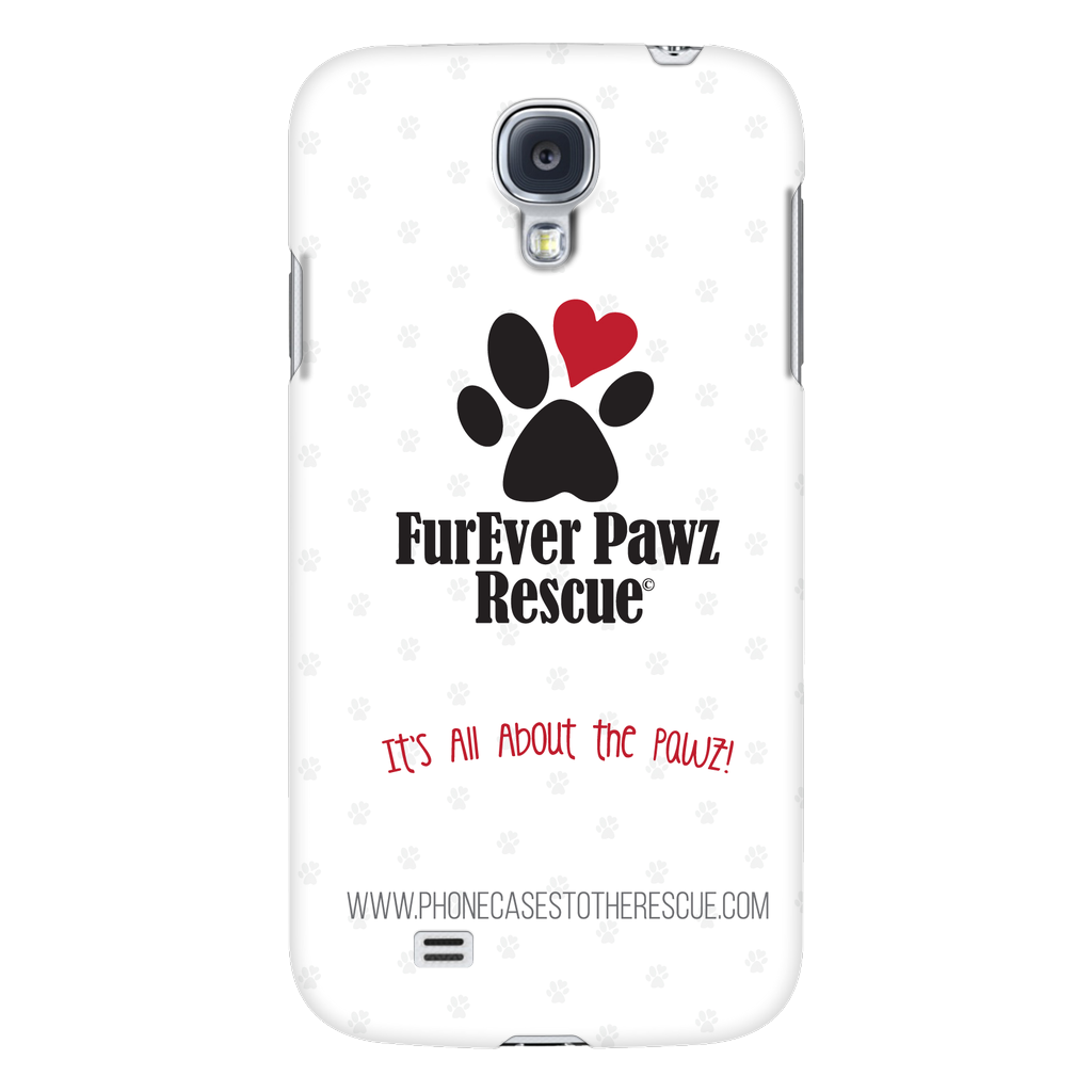 Samsung Galaxy S4 FurEver Pawz Rescue Collaboration Phone Case with Ultra Slim Profile
