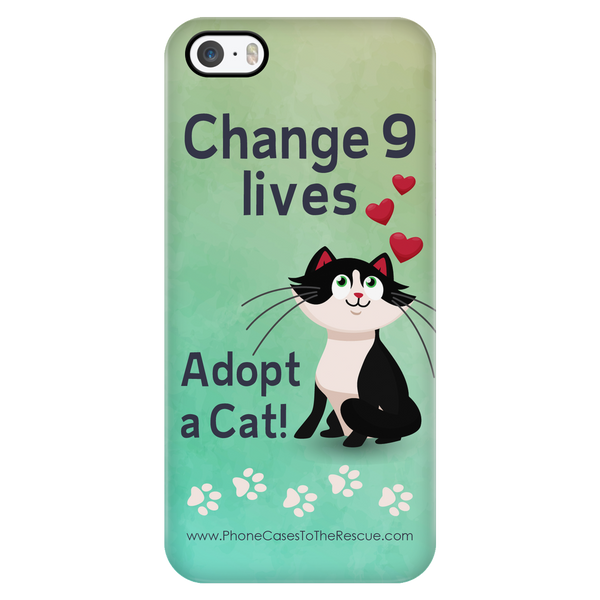 Change 9 Lives - Available for Androids & iPhones