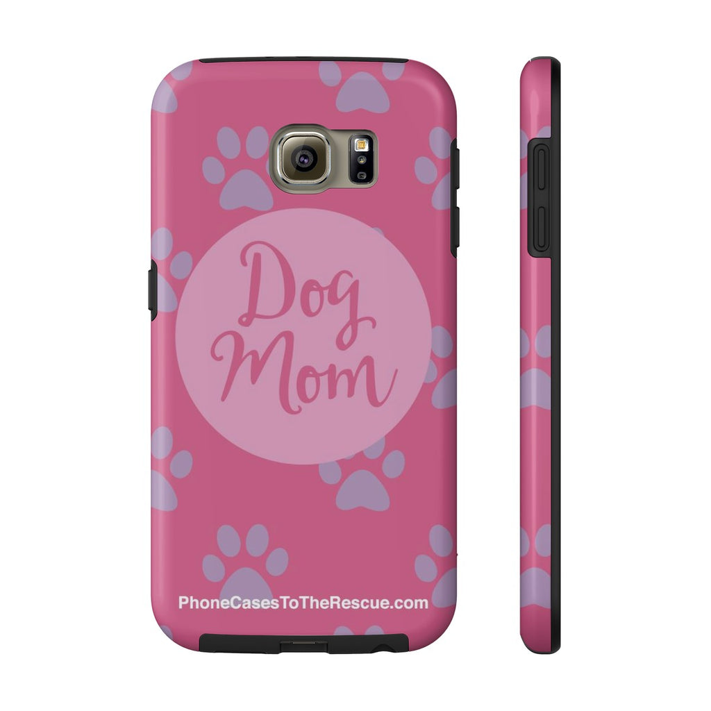 Samsung Galaxy S6 Dog Mom Phone Case with Tough Rugged Protection