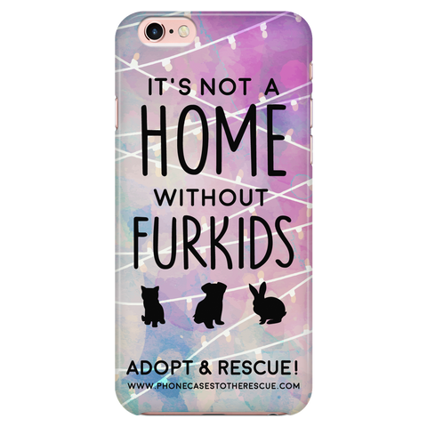 iPhone 7/7s For the Love of Fur Babies Phone Case with Ultra Slim Durable Profile