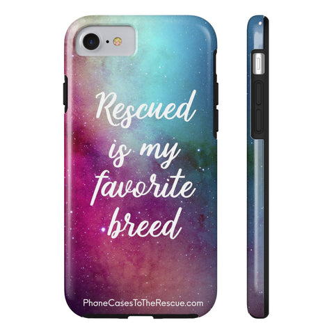 iPhone 7/8 Rescued Is My Favorite Phone Case with Tough Rugged Protection