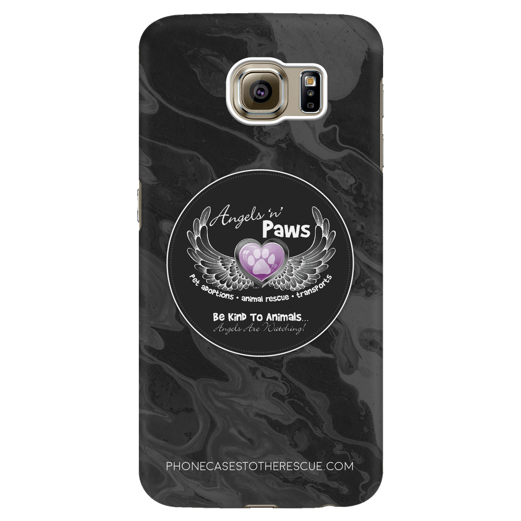 Samsung Galaxy S6 Angels n Paws Collaboration Phone Case with Ultra Slim Durable Profile