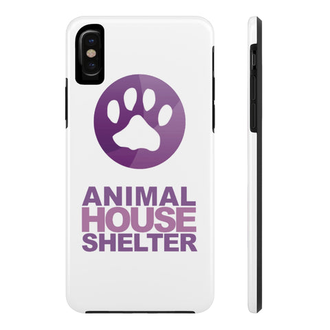 iPhone X Animal House Shelter Collaboration Phone Case with Tough Rugged Protection