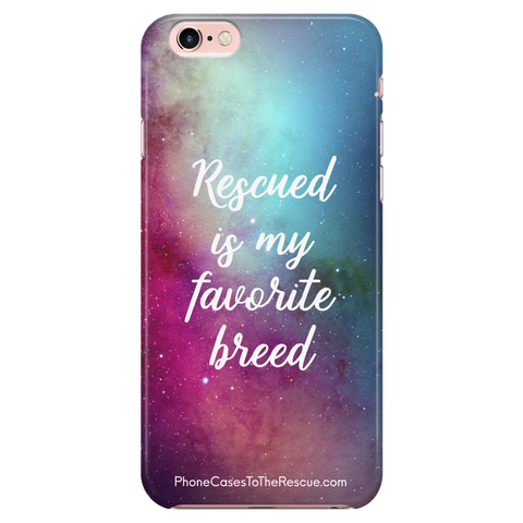 iPhone 6/6s Rescued Is My Favorite Phone Case with Ultra Slim Profile