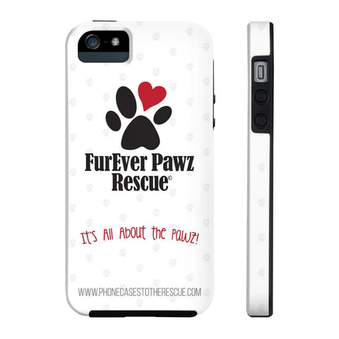 iPhone 5/5s/5se FurEver Pawz Rescue Collaboration Case with Tough Rugged Protection