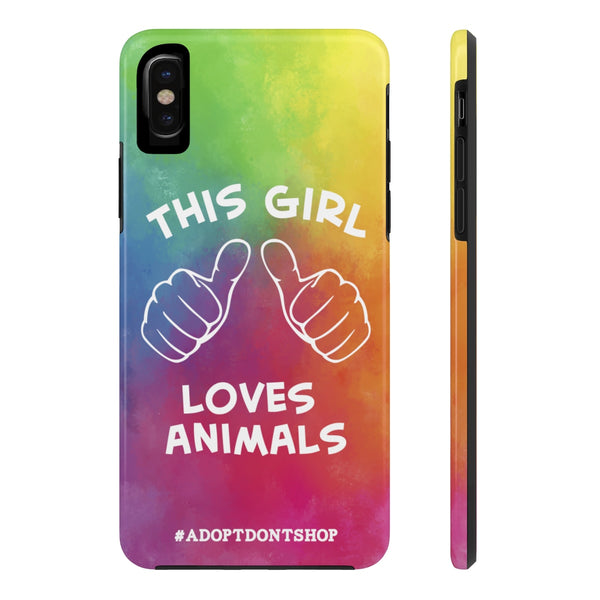 iPhone X This Girl Phone Case with Tough Rugged Protection