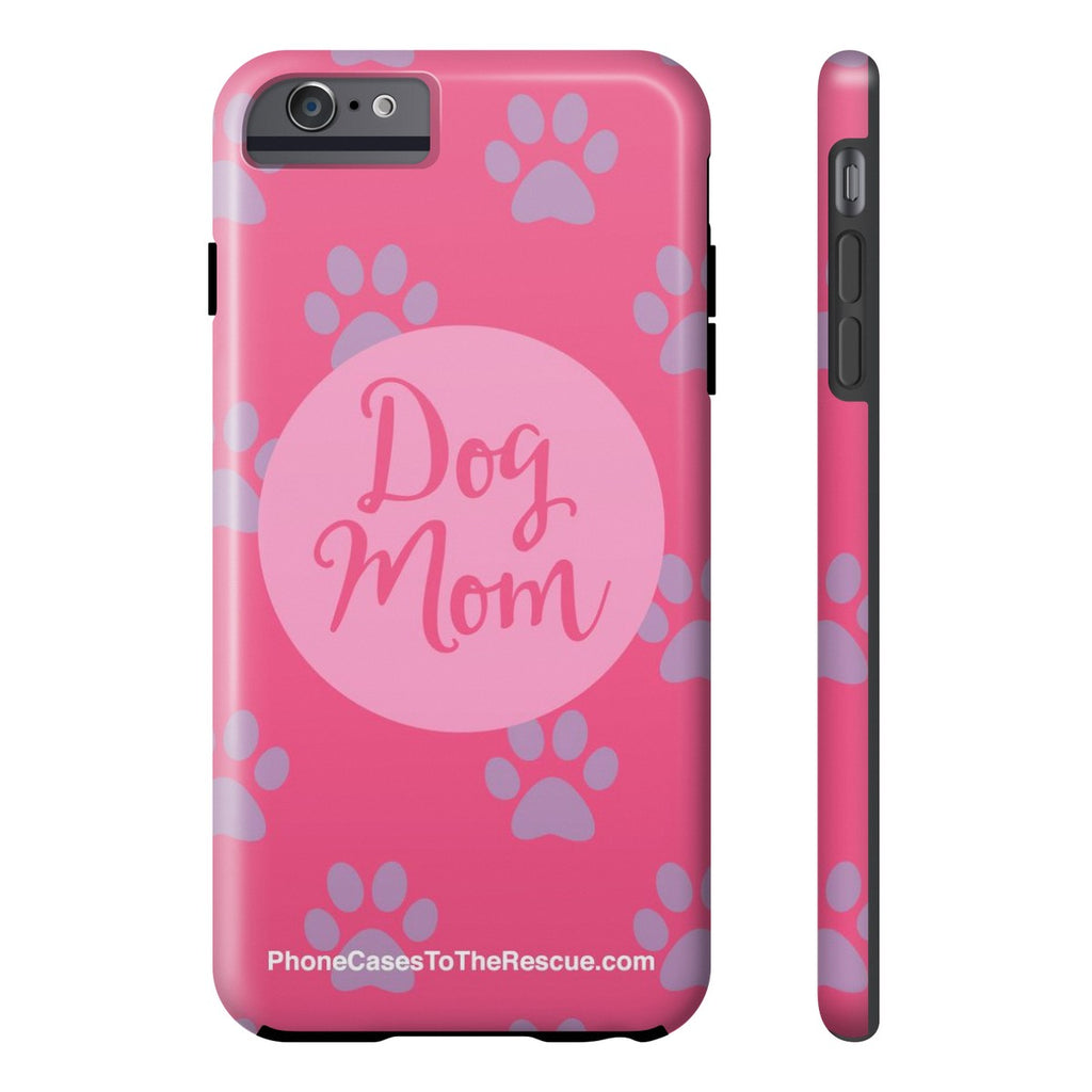 iPhone 6/6s Plus Dog Mom Phone Case with Tough Rugged Protection