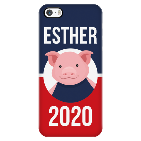 iPhone 5/5s Esther 2020 Patriotic Phone Case with Ultra Slim Durable Profile