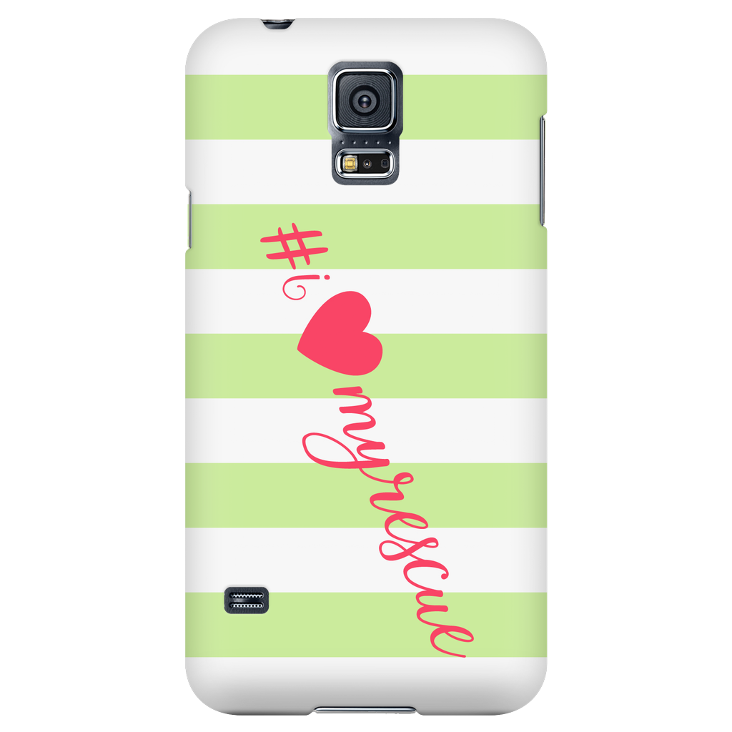 Samsung Galaxy S5 I Love My Rescue Phone Case with Ultra Slim Profile