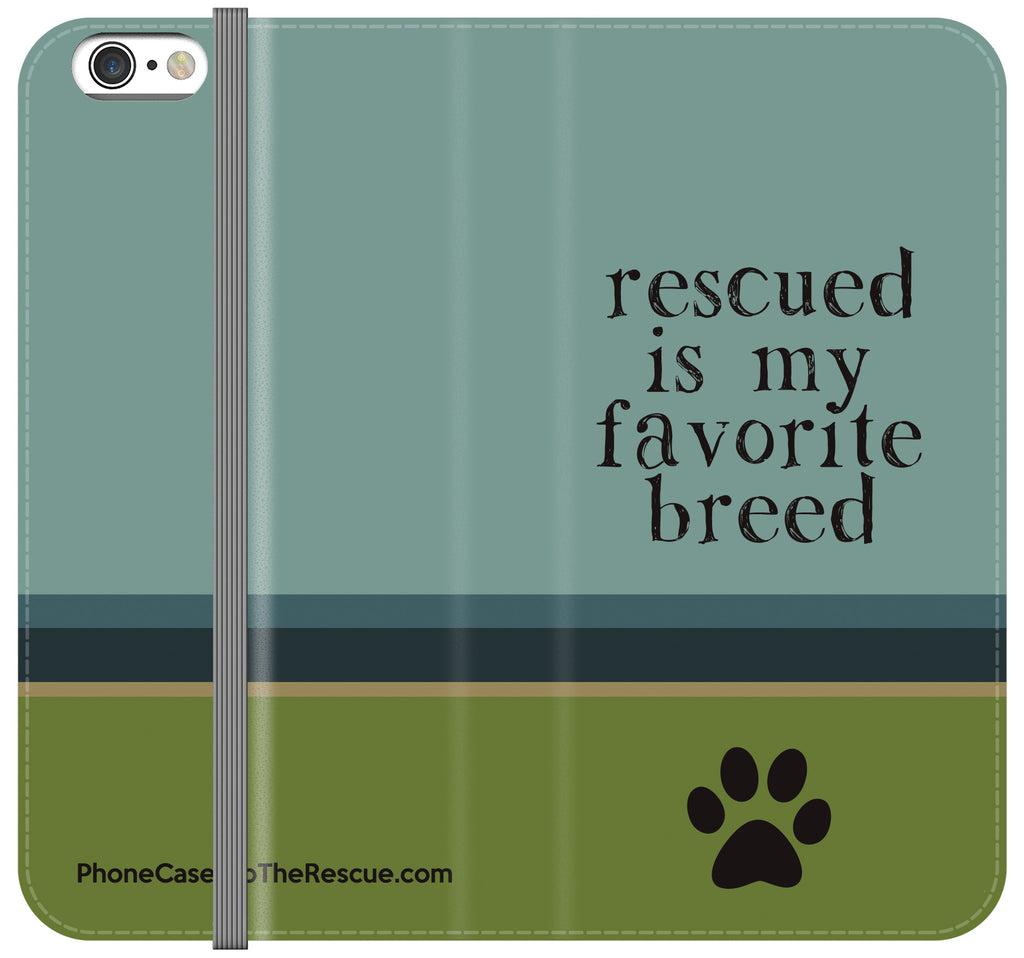 Favorite Breed Folio Case - iPhone X