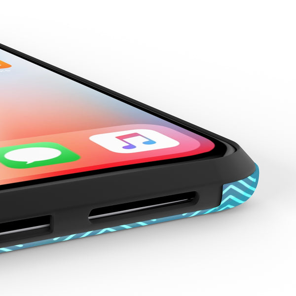 iPhone X It's Not a Home - Blue Phone Case with Tough Rugged Protection