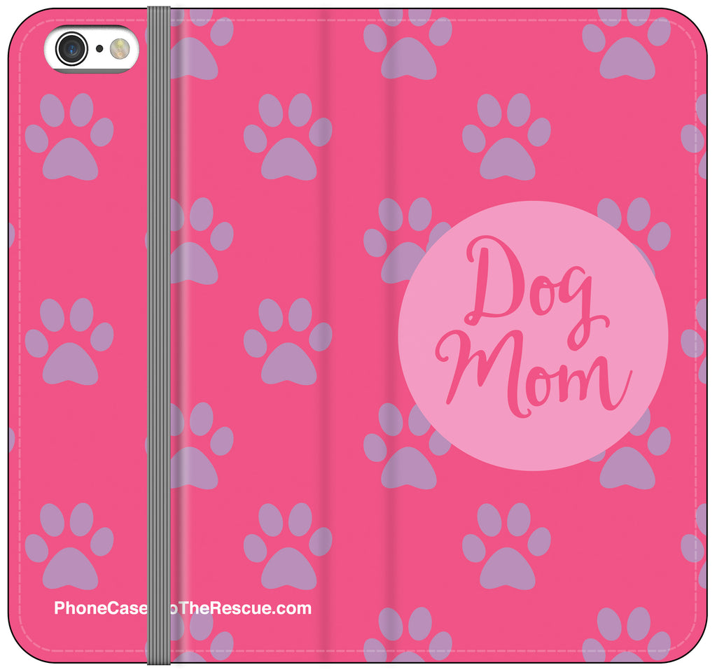 Dog Mom Folio Case - iPhone 6/6S